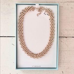 NWT. Cynthia Rowley Gold Chain Necklace.